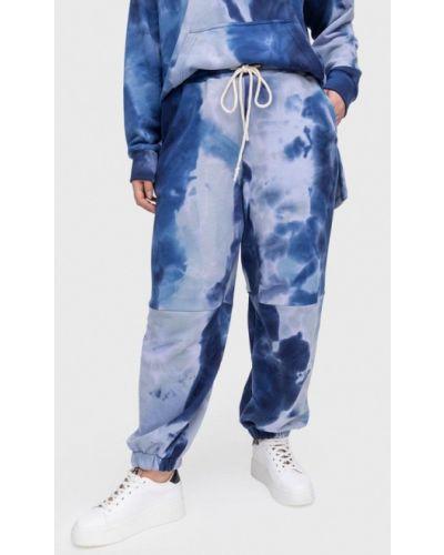Синие спортивные брюки Lessismore