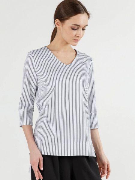 Блузка с длинным рукавом белая весенний Remix