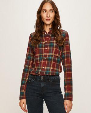 Блузка с длинным рукавом классическая прямая Polo Ralph Lauren