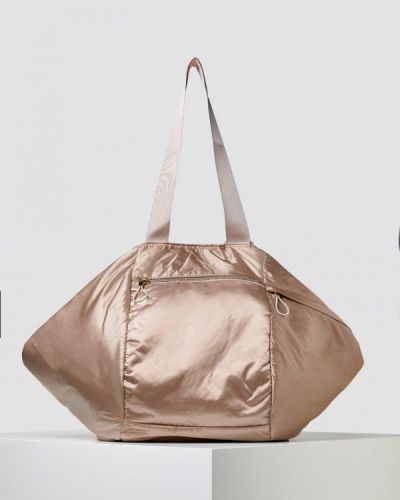 Бежевая спортивная сумка Oysho