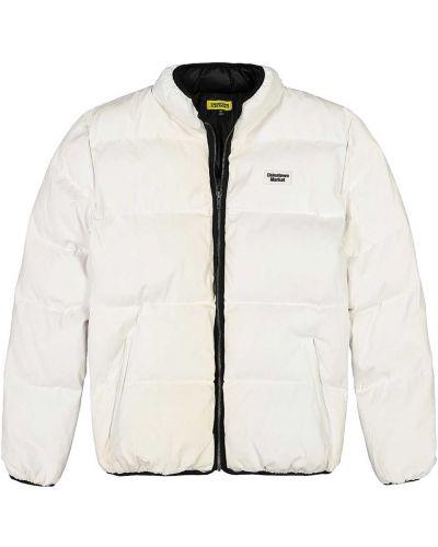 Biała kurtka puchowa Chinatown Market