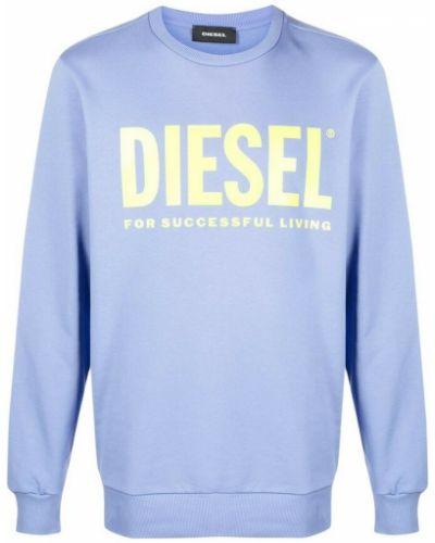 Fioletowy sweter Diesel