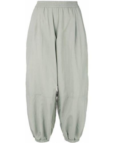 Укороченные брюки с поясом с манжетами The Celect
