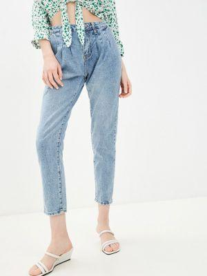 Зауженные джинсы - голубые Bruebeck