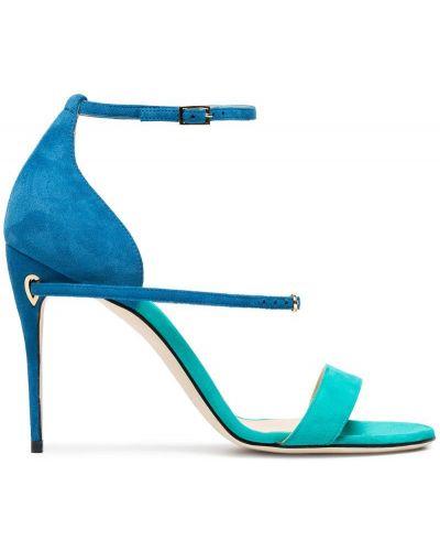 Синие босоножки Jennifer Chamandi