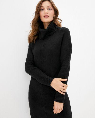 Черное вязаное платье Pimkie