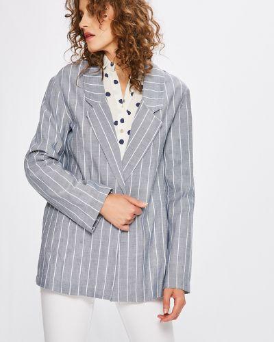 Классический пиджак свободный без застежек в стиле кэжуал Answear