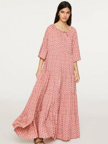 Розовое платье Oysho