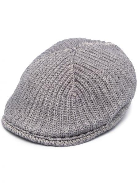 Trykotowy wełniany beret Altea