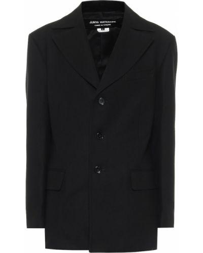 Шерстяная черная куртка Junya Watanabe