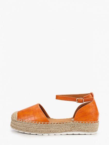 Кожаные туфли оранжевый из искусственной кожи Ideal Shoes®