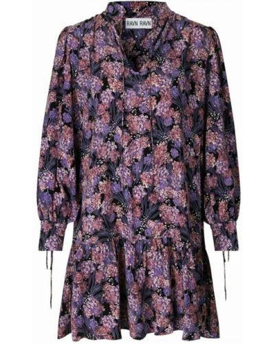 Fioletowa sukienka Ravn