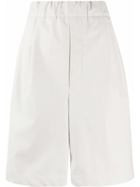 Белые шорты эластичные Jejia