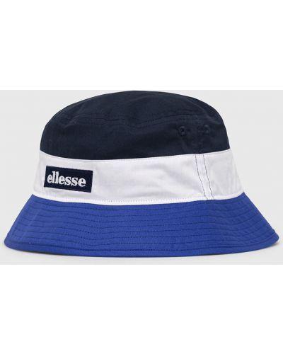Niebieska czapka bawełniana Ellesse