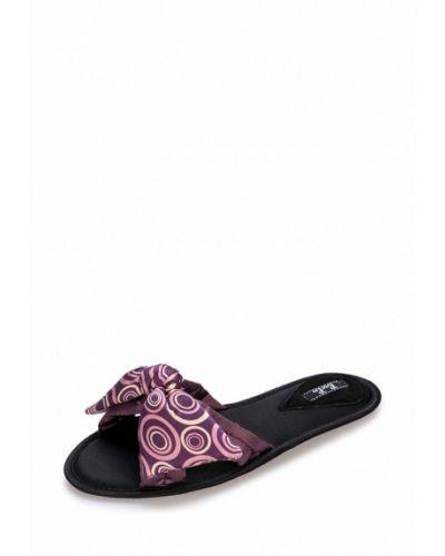 Фиолетовые тапочки замшевые Petit Pas
