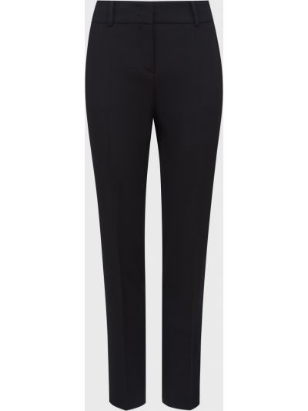 Шерстяные брюки - черные Windsor