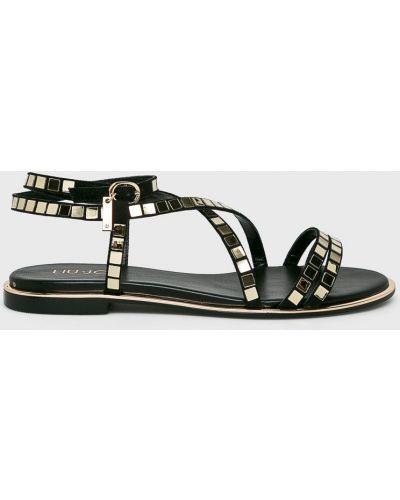 Sandały czarne Liu Jo