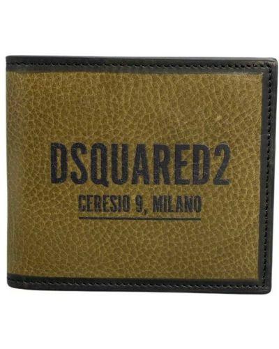 Brązowy portfel Dsquared2