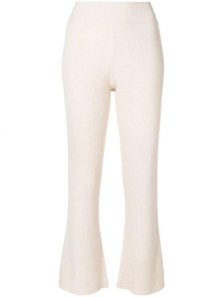Расклешенные укороченные брюки с поясом Cashmere In Love
