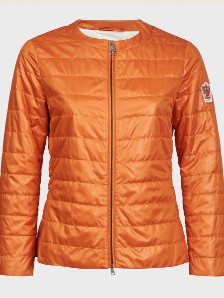 Оранжевая куртка на молнии с подкладкой Gallotti