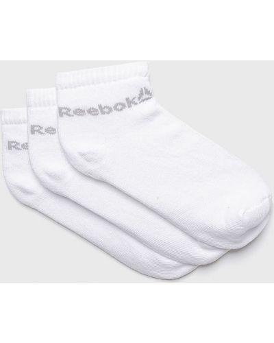Белые колготки нейлоновые Reebok