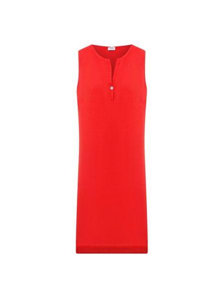 Льняное платье - красное La Fabbrica Del Lino