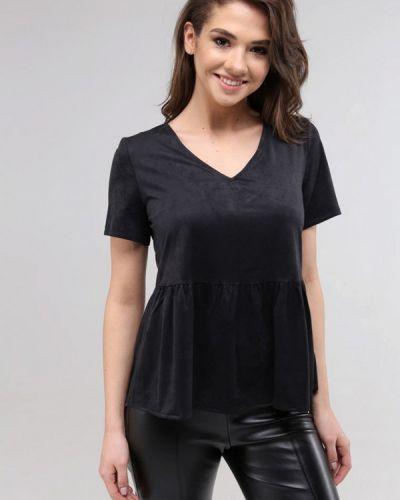 Черная футболка Lavana Fashion