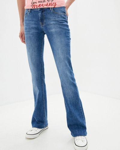 Синие расклешенные джинсы свободного кроя Whitney