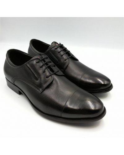 Кожаные туфли - черные Arzoni Bazalini