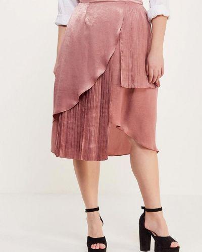 Розовая юбка Lost Ink Plus