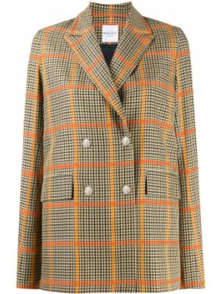 Костюмный прямой классический пиджак с карманами Roseanna
