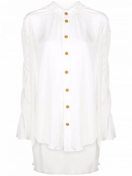 Белая рубашка длинная Vivienne Westwood