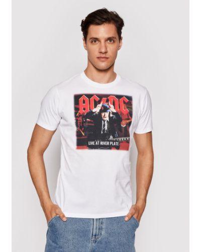 Biała t-shirt Mc2 Saint Barth