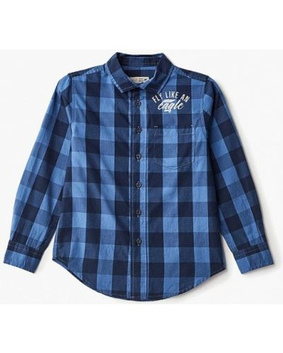 Синяя рубашка Sela