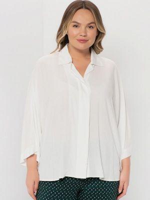 Белая зимняя блузка Samoon By Gerry Weber