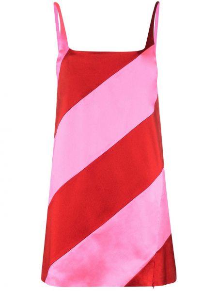 Платье мини розовое макси House Of Holland