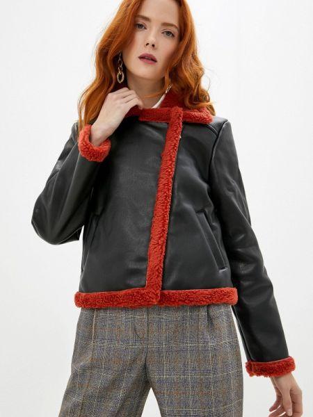 Кожаная куртка - черная Ivyrevel