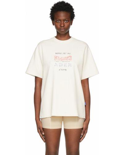 Biała koszulka krótki rękaw Ader Error
