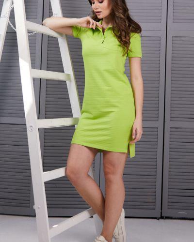Повседневное прямое спортивное платье с разрезом Ellcora