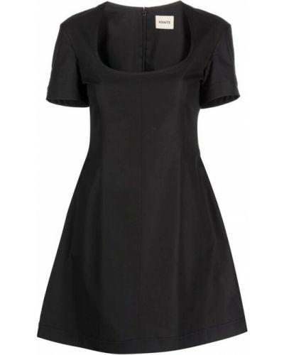 Czarna sukienka Khaite