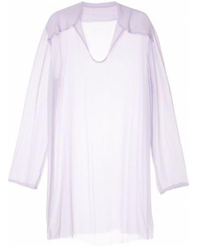 Платье свободного кроя - фиолетовое Zambesi