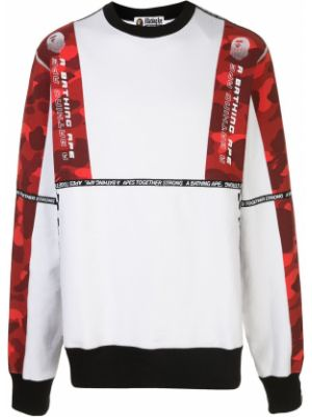 Koszula z długim rękawem długa kamuflaż Bape