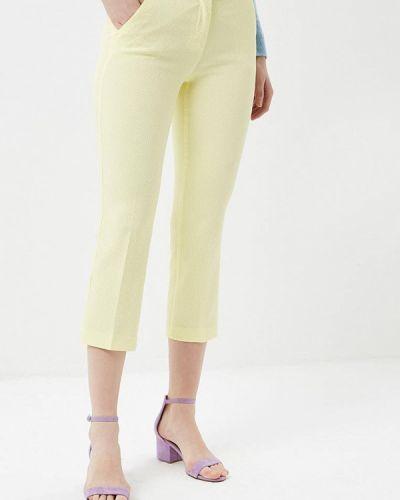Желтые брюки прямые United Colors Of Benetton