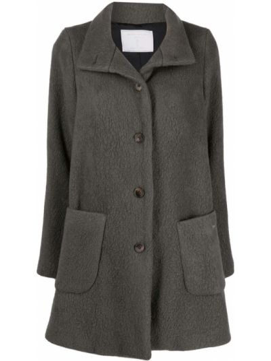 Шерстяное пальто - зеленое SociÉtÉ Anonyme