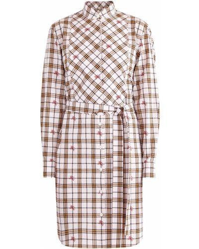 Повседневное платье на пуговицах платье-рубашка Burberry