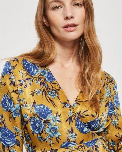 Желтая блузка Topshop Maternity