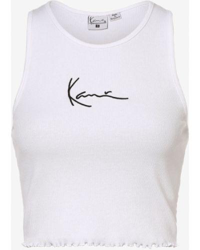 Biała koszulka Karl Kani