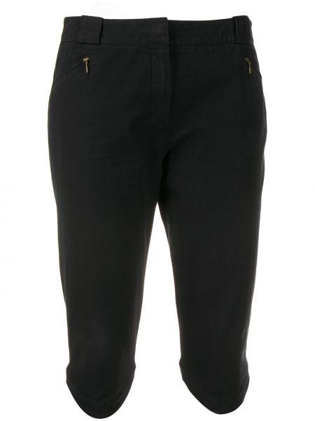 Черные шорты с поясом винтажные Givenchy Pre-owned