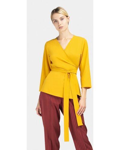 Желтая блузка с длинным рукавом Grass