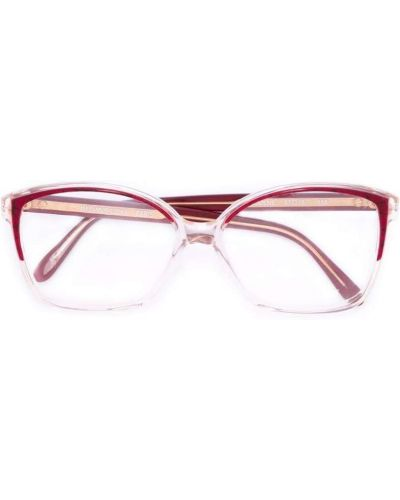 Очки винтажные - красные Yves Saint Laurent Vintage